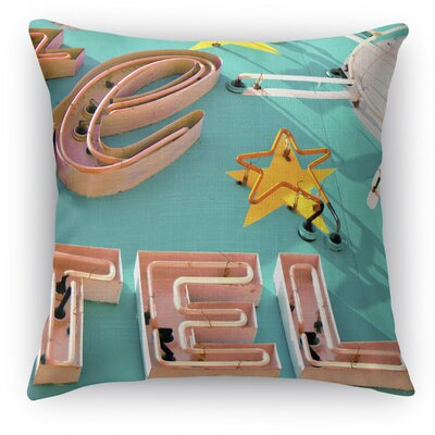 Tel Throw Pillow Size: 18 H x 18 W x 5 D