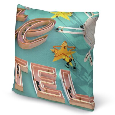 Tel Accent Pillow Size: 16 H x 16 W x 5 D