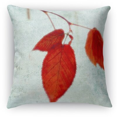 The Last Leaves Throw Pillow Size: 16 H x 16 W x 5 D
