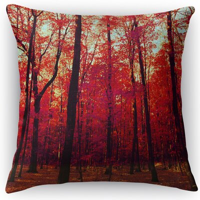 The True North Throw Pillow Size: 18 H x 18 W x 5 D