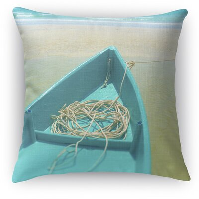 To Sea Throw Pillow Size: 18 H x 18 W x 5 D