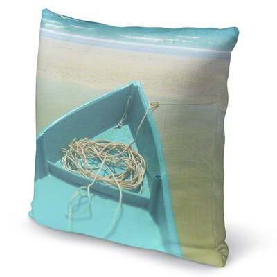 To Sea Accent Pillow Size: 16 H x 16 W x 5 D