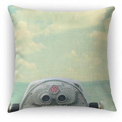 Way Out There Throw Pillow Size: 24 H x 24 W x 5 D