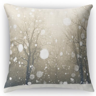 Winter Throw Pillow Size: 24 H x 24 W x 5 D