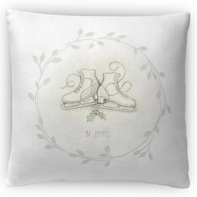 Skates Throw Pillow Size: 16 H x 16 W x 4 D