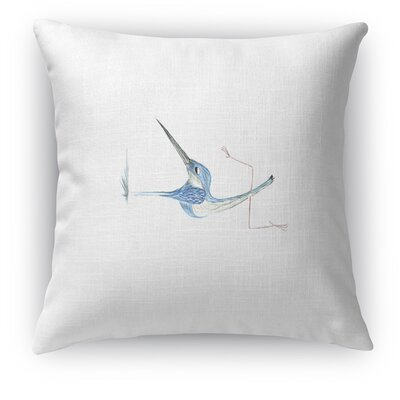 Bird in Handstand Accent Pillow