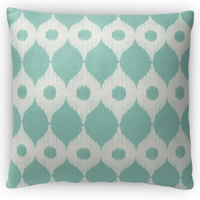 Forrest Rain Throw Pillow Size: 16 H x 16 W x 4 D