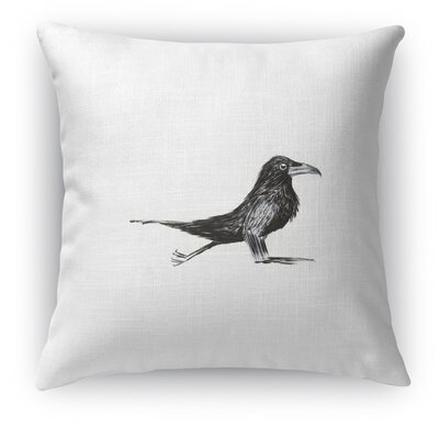 Crow Chatturanga Throw Pillow