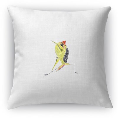 Finch Reverse Throw Pillow