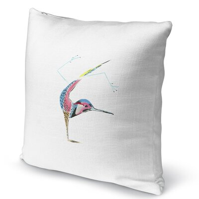 Flicker Handstand Accent Pillow