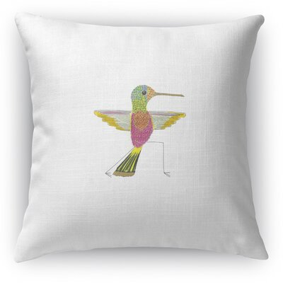 Hummingbird Warrior 2 Accent Pillow