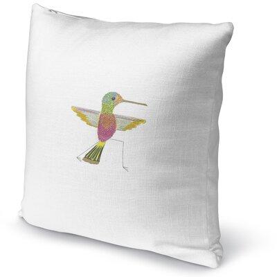 Hummingbird Warrior 2 Accent Pillow