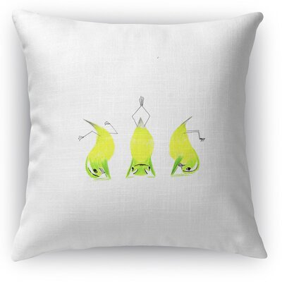 Lemons Headstand Throw Pillow