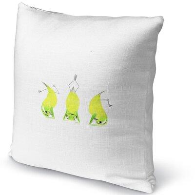 Lemons Headstand Accent Pillow