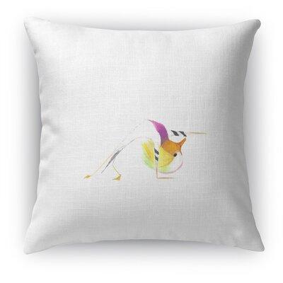 Mandarin In Wild Thing Throw Pillow