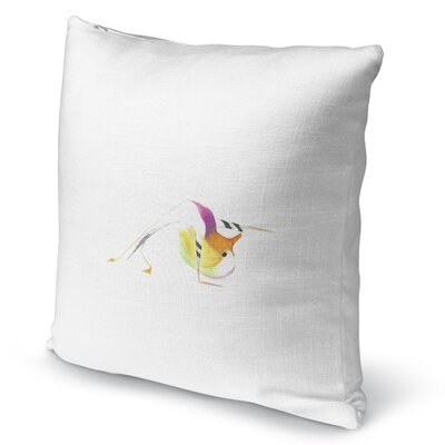 Mandarin In Wild Thing Accent Pillow