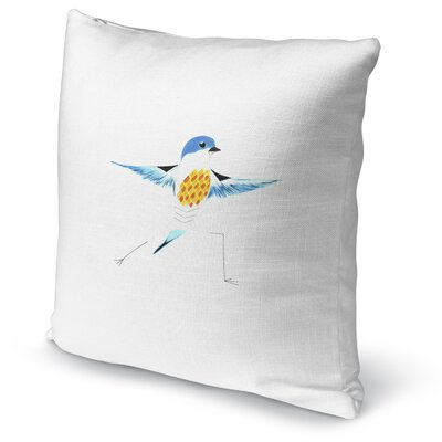Missouri Bird in Warrior Accent Pillow