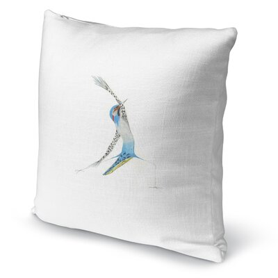 Northern Flicker In Reverse Accent Pillow