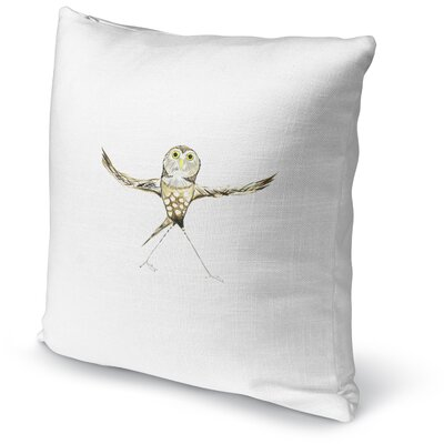 Owl Twist Accent Pillow
