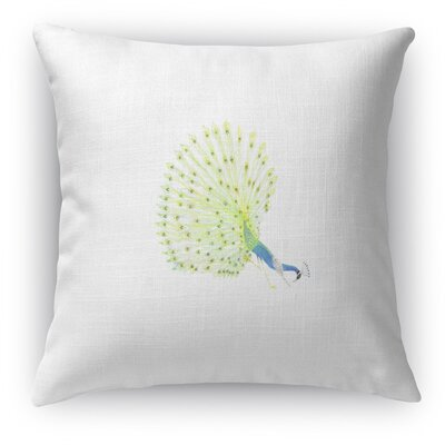 Peacock Parsvo Accent Pillow