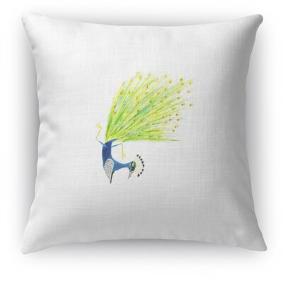 Peacock Pincha Accent Pillow