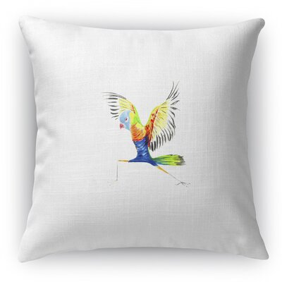 Rainbow Lorikeet Accent Pillow