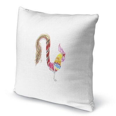 Rooster Tadasana Accent Pillow