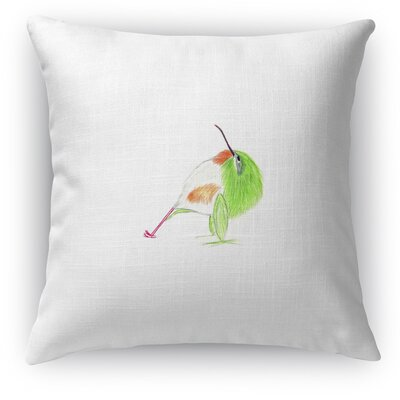 Tody In Reverse Plank Throw Pillow