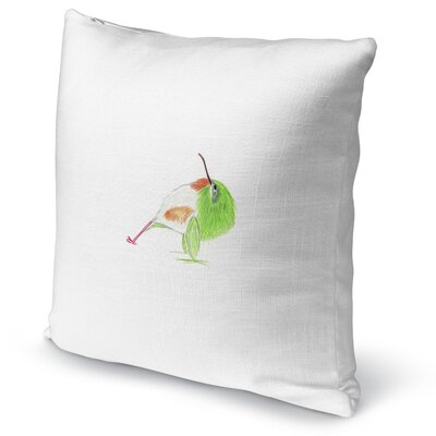 Tody In Reverse Plank Accent Pillow