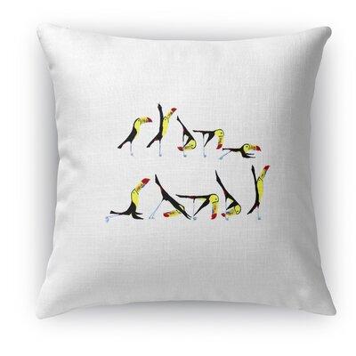 Toucan Flow Accent Pillow