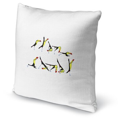 Toucan Flow Accent Pillow