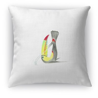 Toucan In Plow Accent Pillow