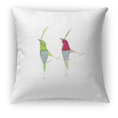 Twinning Throw Pillow