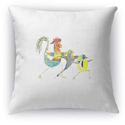 Warrior 2 Trio Accent Pillow