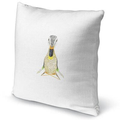 Wood Duck Namaste Accent Pillow