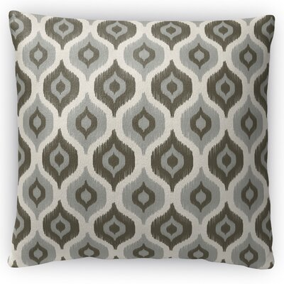 Harmony Throw Pillow Color: Beige, Size: 16 H x 16 W x 4 D