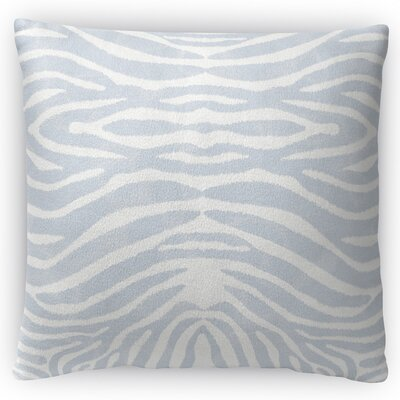 Nerbone Throw Pillow Size: 18 H x 18 W x 4 D, Color: Light Blue
