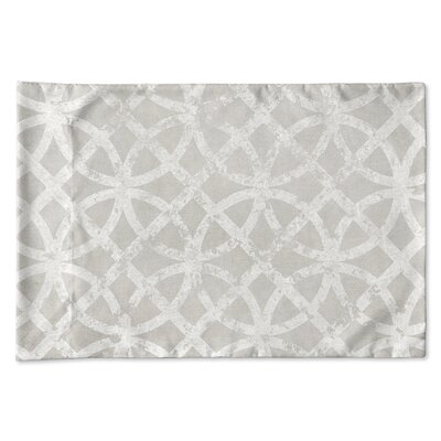 Freehold Pillow Case Size: 20 H x 30 W x 1 D, Color: Gray