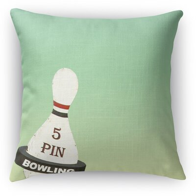 5 Pin Throw Pillow Size: 18 H x 18 W x 5 D