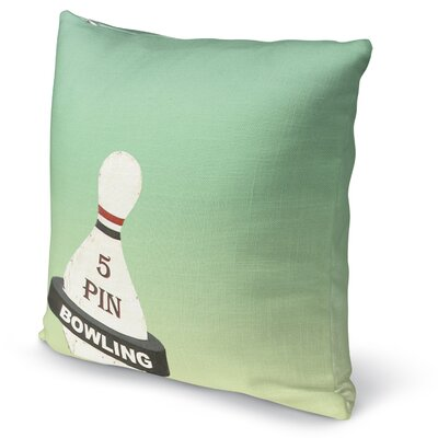5 Pin Accent Pillow Size: 16 H x 16 W x 5 D