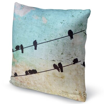 Tweet Accent Pillow Size: 18 H x 18 W x 5 D