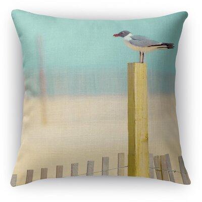 Seaside Throw Pillow Size: 16 H x 16 W x 5 D