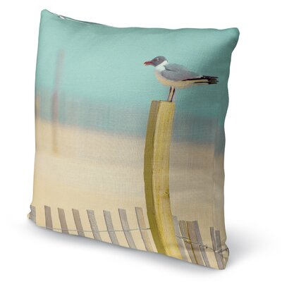 Seaside Accent Pillow Size: 16 H x 16 W x 5 D