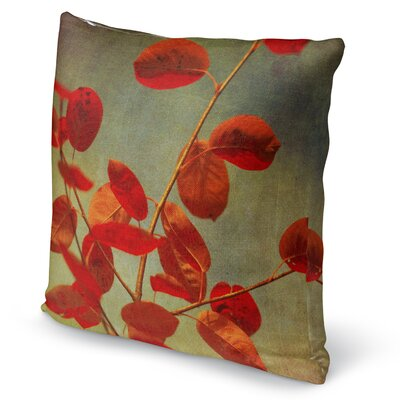 October Curtain Call Accent Pillow Size: 18 H x 18 W x 5 D