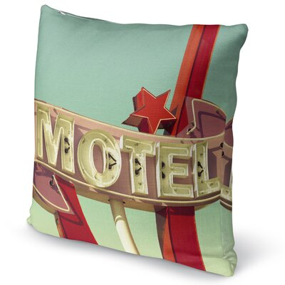 Motel Accent Pillow Size: 16 H x 16 W x 5 D