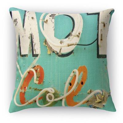Mot Col Throw Pillow Size: 16 H x 16 W x 5 D