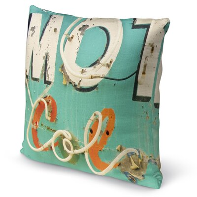 Mot Col Accent Pillow Size: 16 H x 16 W x 5 D