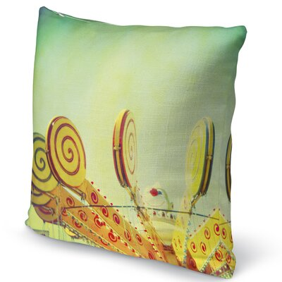 Lollypop Love Accent Pillow Size: 16 H x 16 W x 5 D