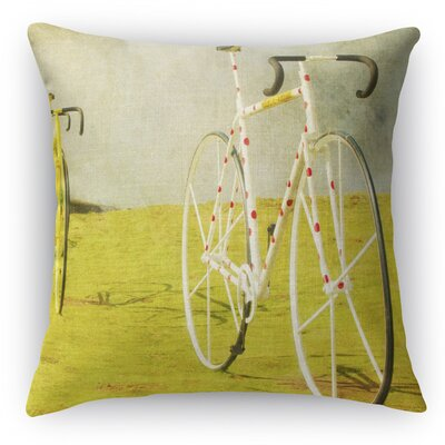 Le Tour Throw Pillow Size: 16 H x 16 W x 5 D
