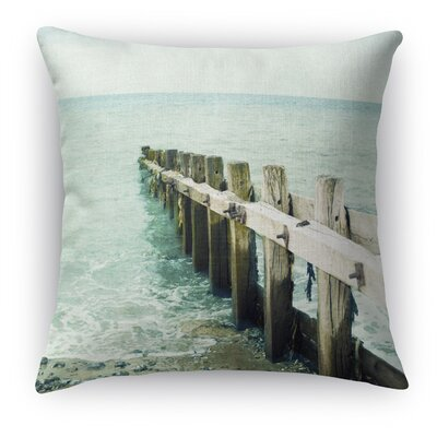 Jetty Throw Pillow Size: 16 H x 16 W x 5 D